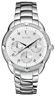 Bulova Women's Diamond Collection Bracelet Watch, 36mm - 0.11 ctw