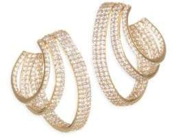 Adriana Orsini Lobe Hoop Earrings