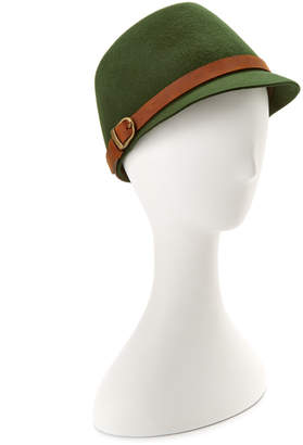 San Diego Hat Company San Diego Hat Co. Women's Wool Olive Cap