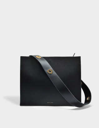 Lente Danse Young Bag in Black Italian Calfskin