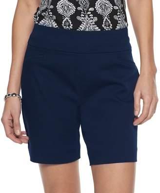 Croft & Barrow Women's Effortless Stretch Pull-On Shorts