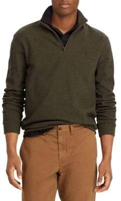 Polo Ralph Lauren Cashmere Touch Half-Zip Sweater