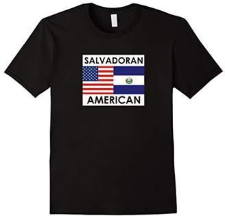 EL SALVADOR AMERICA Flags T shirt for Salvadoran Americans