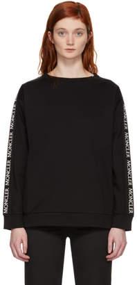 Moncler Black Logo Sleeve Sweatshirt