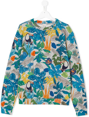 Paul Smith TEEN toucan print sweatshirt