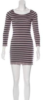 Indah Striped Sweater Dress