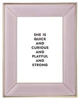 Kate Spade Charles Lane Glass Picture Frame