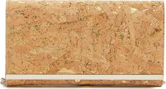 Nordstrom Metallic Cork Clutch