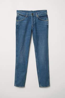 H&M Retro Slim Jeans - Blue