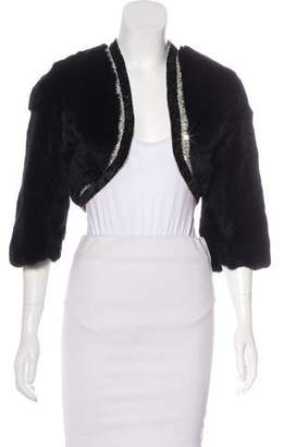 Iisli Cropped Fur Coat