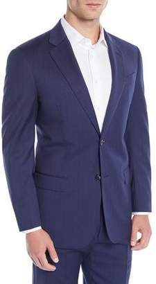 Emporio Armani Men's Two-Piece Wool Broken-Sharkskin Suit
