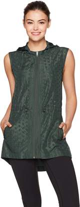 Nanette Lepore Play Women's Embroidered Eyelet Vest
