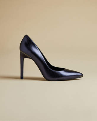 Ted Baker MELNIMA Metallic leather high heel courts