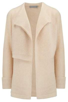 Vince Drape Front Cardigan in Sand