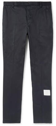 Thom Browne Slim-fit Cotton-twill Chinos