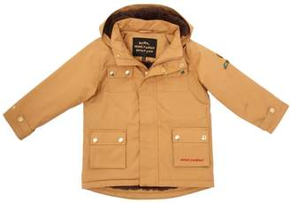 Mini Rodini Waterproof Canvas Puffer Parka