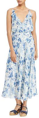 Polo Ralph Lauren Floral Silk Wrap Dress