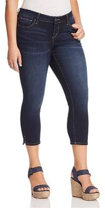 SLINK Jeans Plus SLINK Jeans Skinny Crop Jeans in Amber