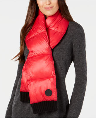 DKNY Quilted Puffer Scarf