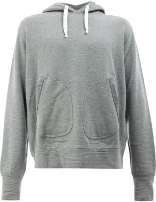 Junya Watanabe rear print hoodie