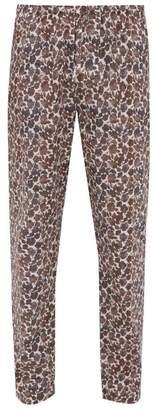Zimmerli Light Magic Floral Print Pyjama Trousers - Mens - Brown Multi