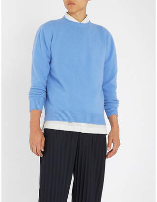 The Elder Statesman Crewneck cashmere jumper