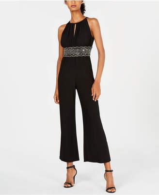 R & M Richards Embellished Jumpsuit