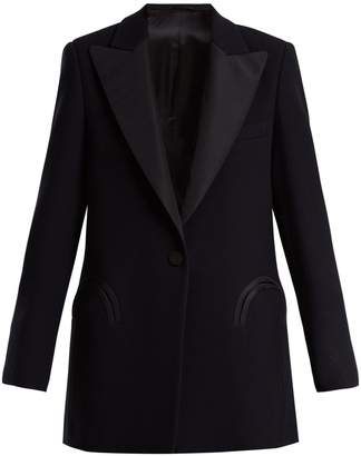 BLAZÉ MILANO Resolute Everyday wool-crepe blazer
