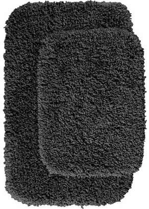 Garland Rugs Serendipity Shaggy Nylon 2-Piece Washable Bathroom Rug Set