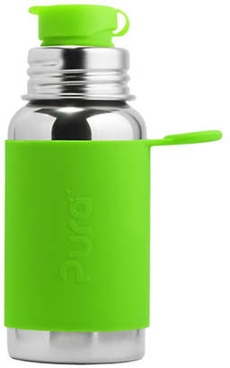 PURA STAINLESS Stainless Steel Green Sports Bottle