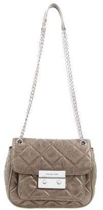 MICHAEL Michael Kors Quilted Leather Shoulder Bag