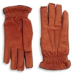 Brunello Cucinelli Suede& Cashmere Gloves