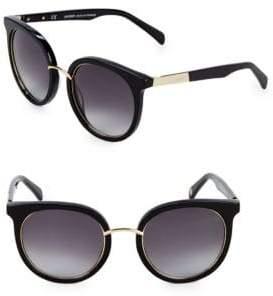 Balmain 51MM Round Cat-Eye Sunglasses