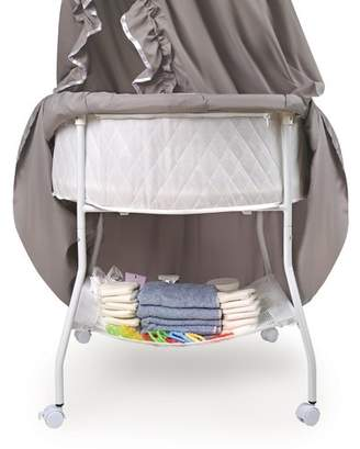 Badger Basket Empress Round Baby Bassinet