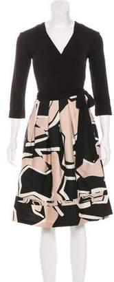 Diane von Furstenberg Wool-Blend New Jewel Dress