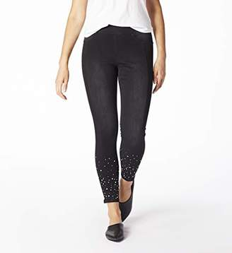 Jag Jeans Women's Marla Denim Legging with Pearls