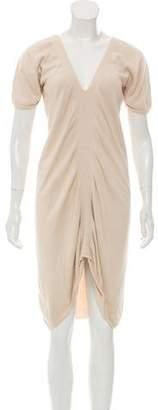 Zero Maria Cornejo Knit Short Sleeve Dress