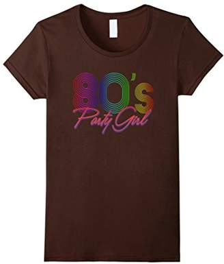 80s Party shirt Girl Limited Neon