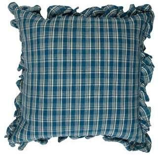 Ralph Lauren Dylan Check Throw Pillow