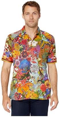 Robert Graham Limited Edition Landscapes Short Sleeve Woven Shirt