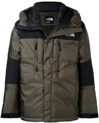 The North Face contrast stripe padded jacket