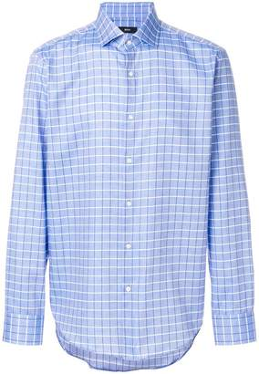 HUGO BOSS checked shirt