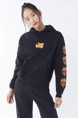 Obey Flame Hoodie Sweatshirt