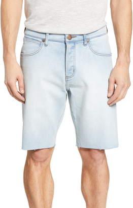 Wrangler Slider Slim Straight Leg Denim Shorts