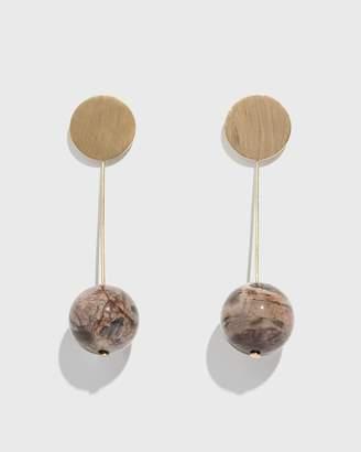 Modern Weaving Opalite Stone Drops