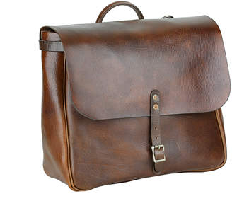 A Leather Studio Leather Messenger Bag