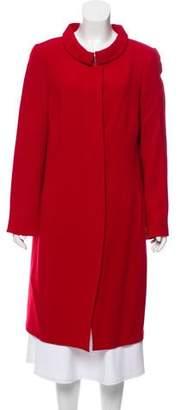 Akris Wool Long Coat