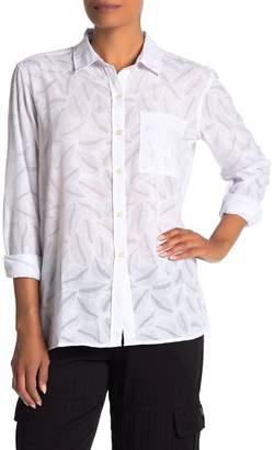 d8f8461c61e2fb Women Sheer White Button Shirt - ShopStyle