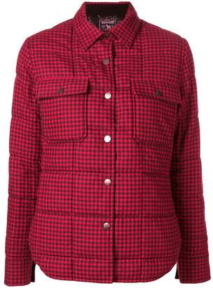 Woolrich gingham padded jacket