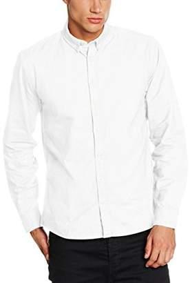 Lindbergh Men's Oxford L/s Leisure Shirt,(manufacturer Size: 44 (herstellergröße44 (herstellergrößexl)